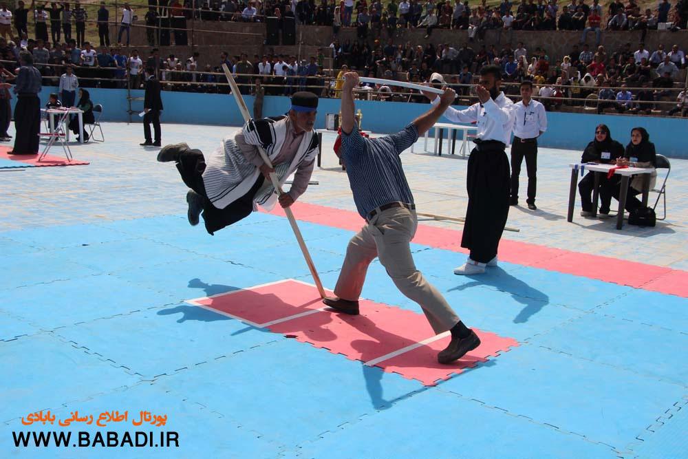 دومین دوره مسابقات بومی محلی چوب بازی (قهرمانی کشور) به میزبانی مسجدسلیمان برگزار شد