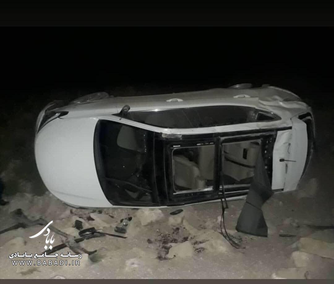 تصادف خودروی دکترمالک خدادادی
